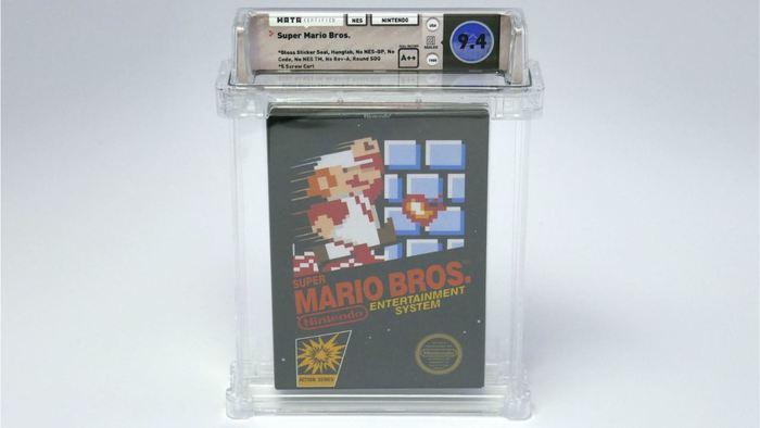 Gioco Super Mario all'asta a 114mila dollari, cifra record!